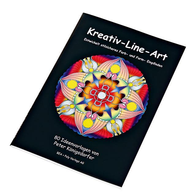 Mandala Buch Kreativ-Line-Art