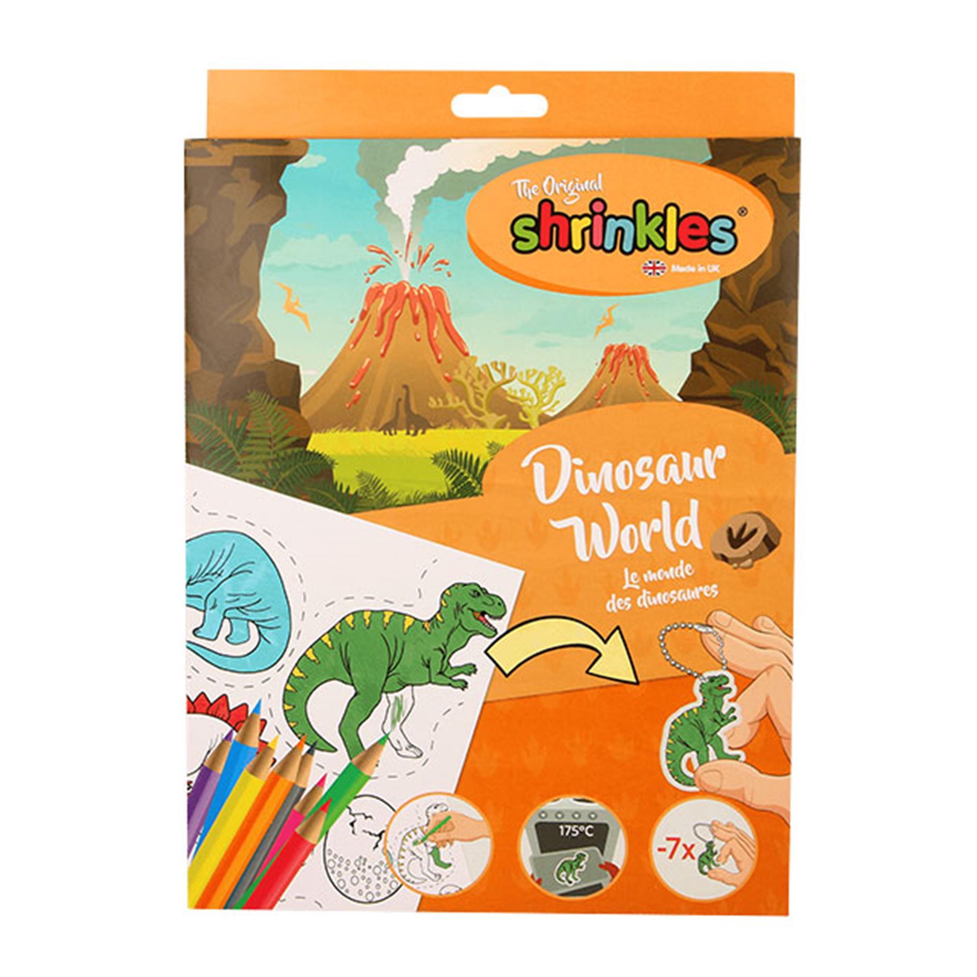 Shrinkles Dinosaurier schrumpfen