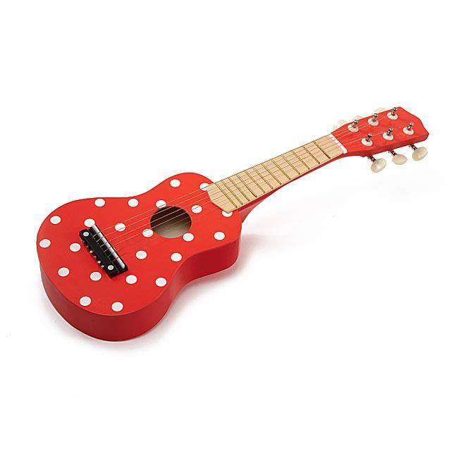Kindergitarre Fliegenpilz