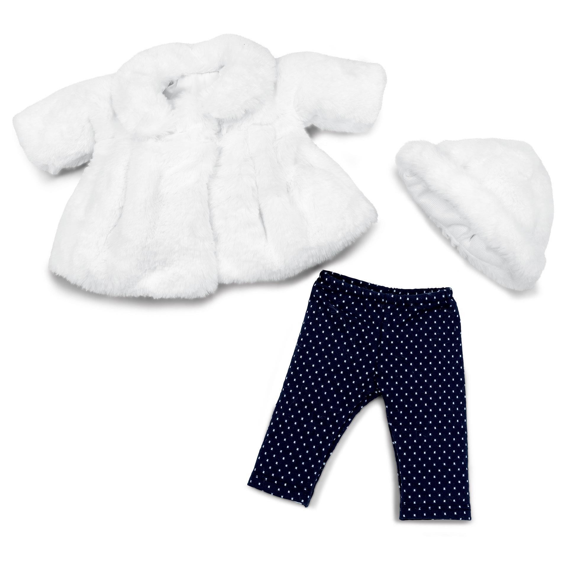 Puppenkleidung Schneehäschen Prinzessin BL