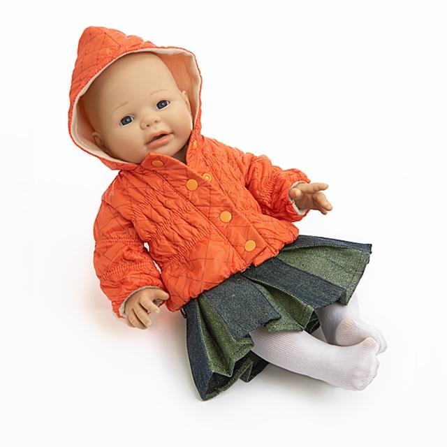 Puppenbekleidung Après Ski 3tlg. BL