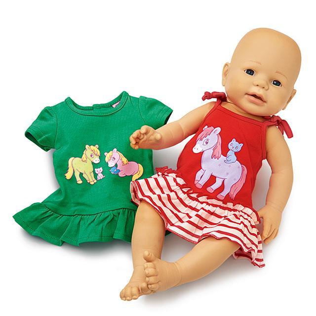 Puppen Kleidchen Lolly und Polly 2 Stk. BL