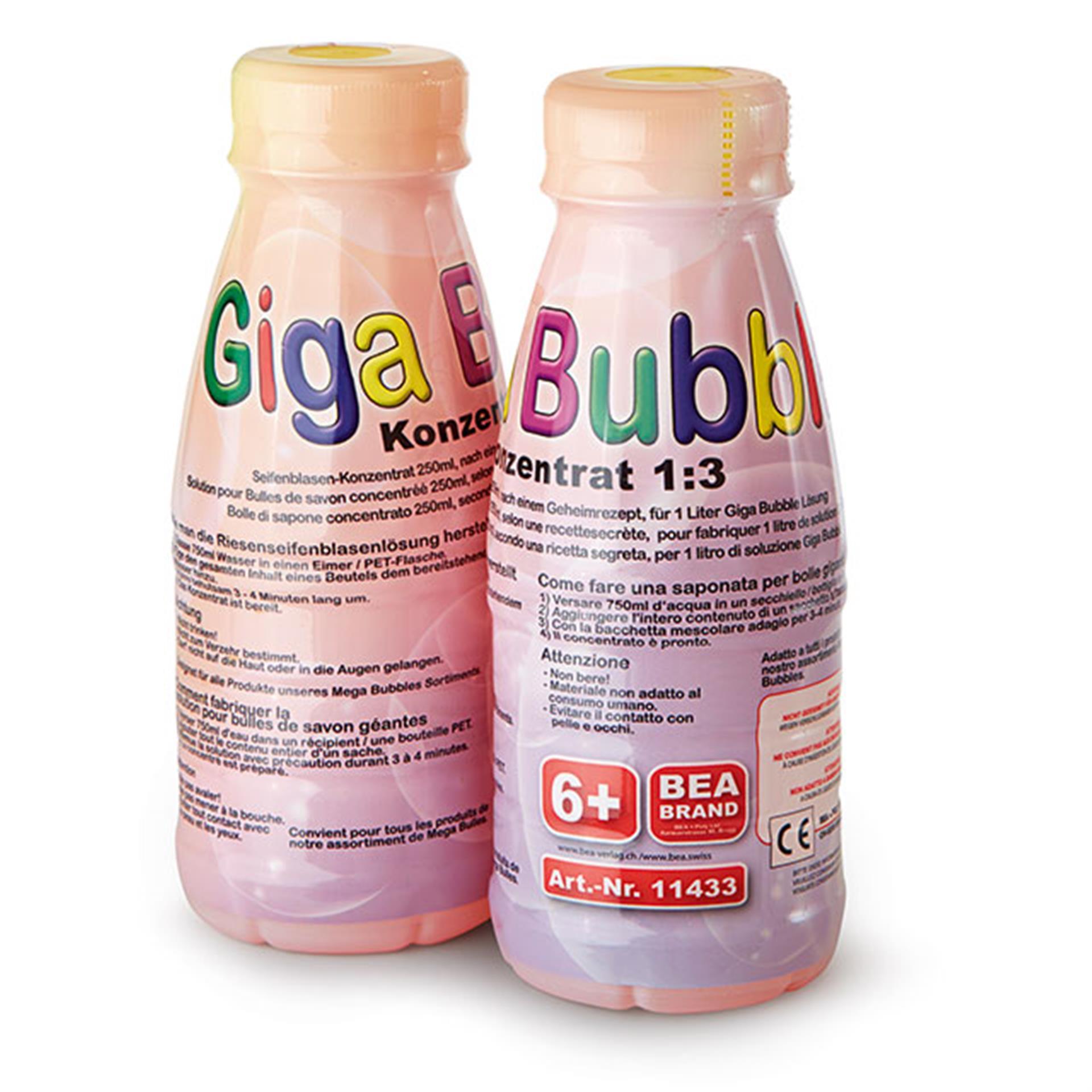 Seifenblasen Giga Bubble für 2 L