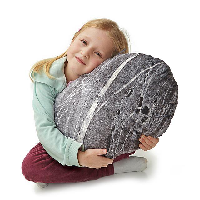 Stein Zierkissen Granit 50 x 36 cm