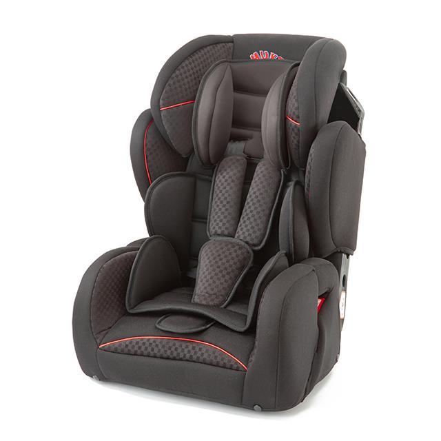 Autositz Premium Comfort schwarz