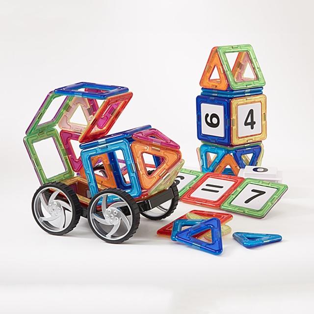 Kinder Kreativ Set Magnetic Builders 60tlg.