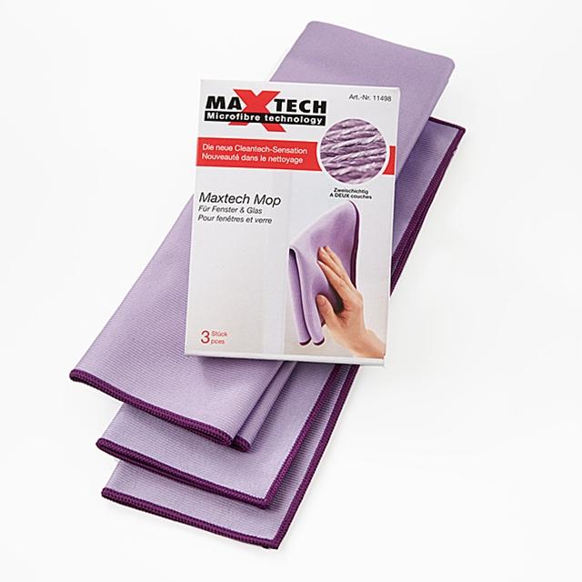 MAXTECH Mopp für Fenster/Glas 3 Stk.