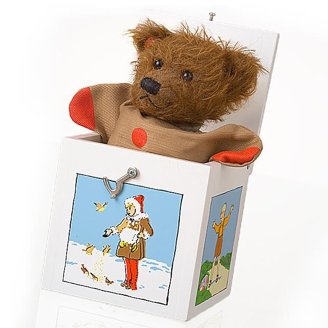 Mutzli Sammlerbär Jack in the box