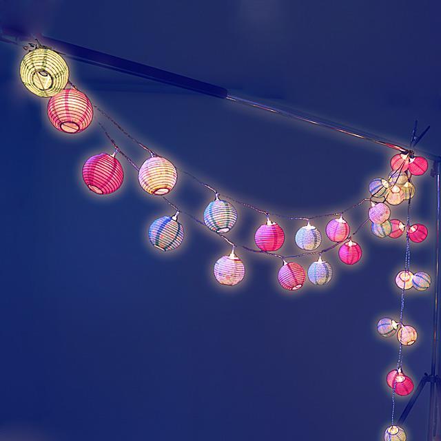 Lampion Lichterkette LED Romantik