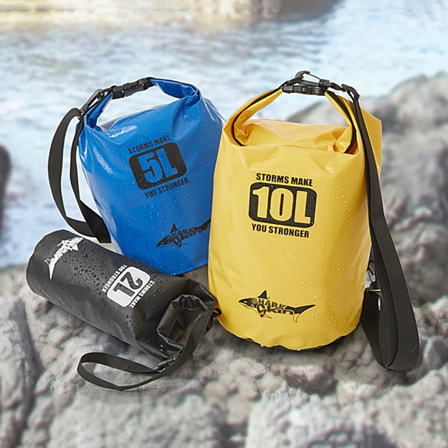 Waterproof Dry-Bags 3 Stk.
