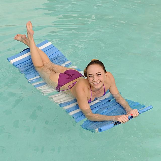 Schwimm- und Liegematte 2in1