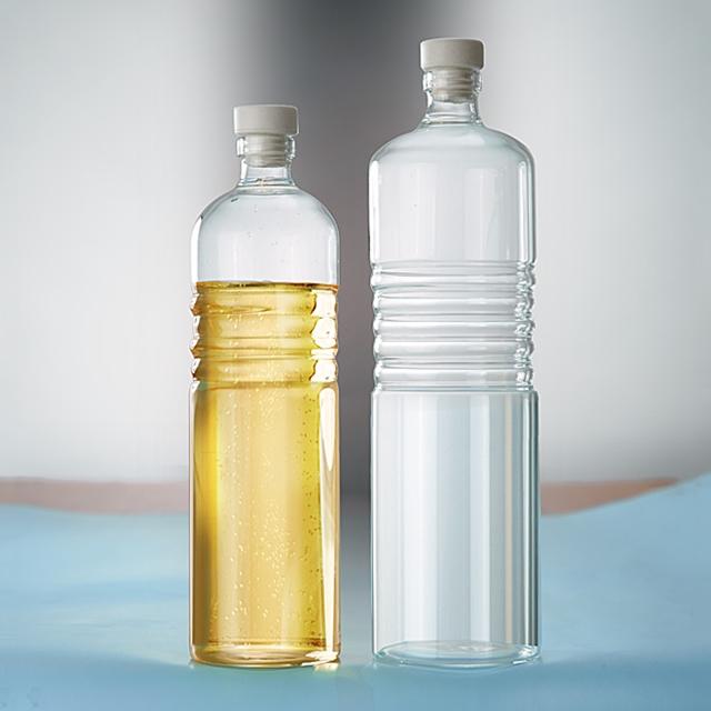 Glas Flaschen PET 2 Stk.