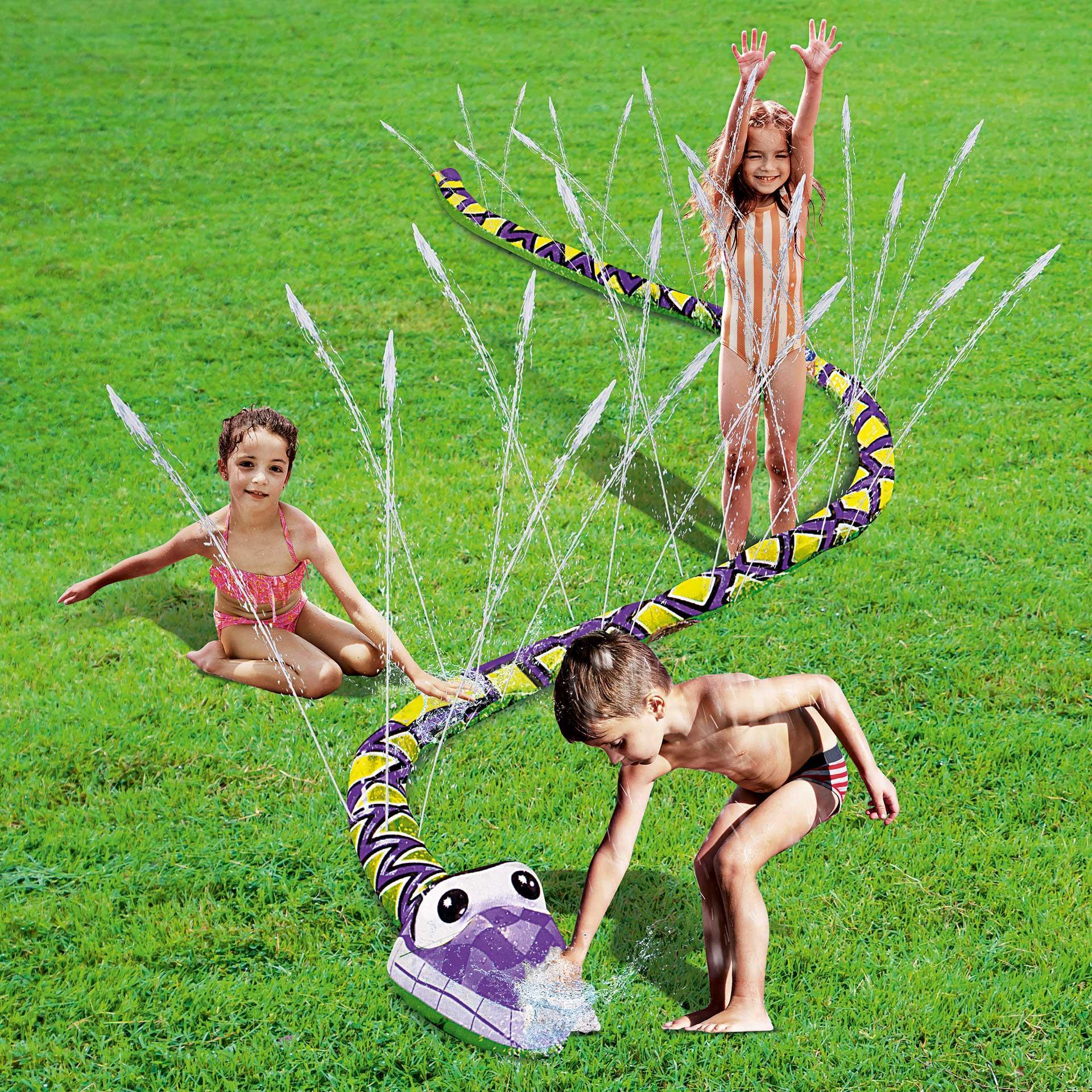 Wassersprinkler Schlange