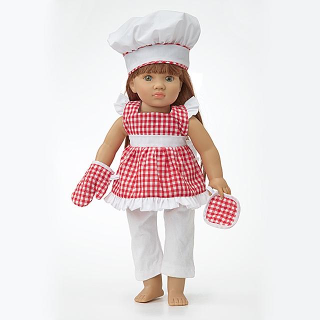 Puppenkleid Sterneköchin HL