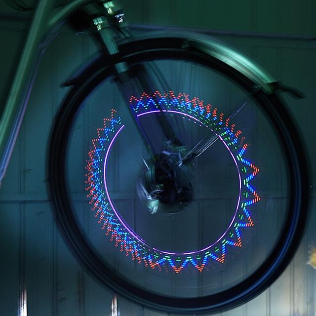 Fahrrad Speichenlichter 2 Stück