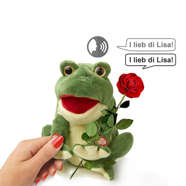 Sprechender Frosch