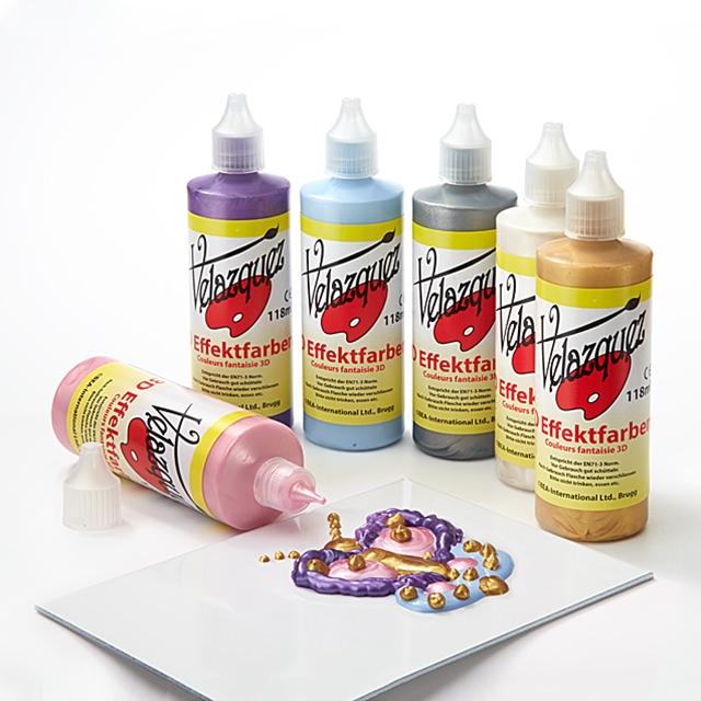 3D Effektfarben Perlmutt  à 118 ml